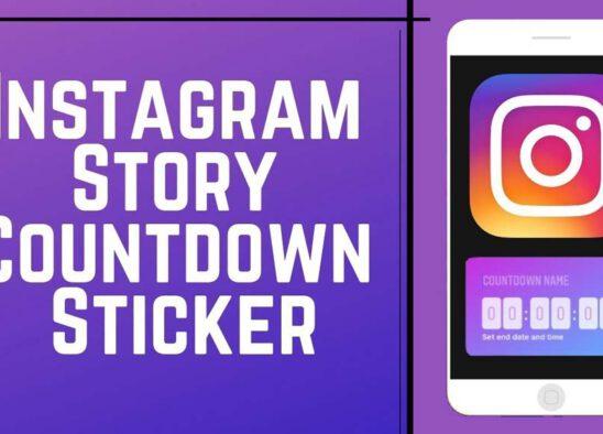 instagram countdown